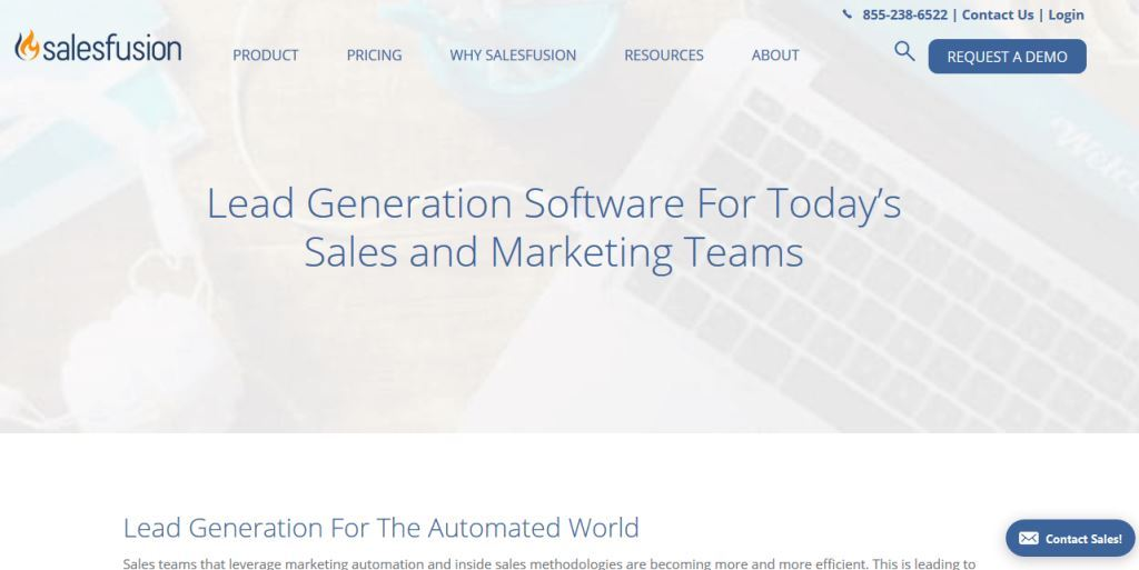 Salesfusion-Lead-Generation-Software