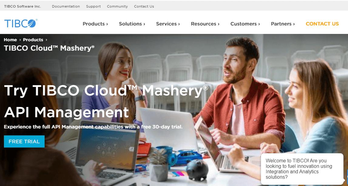 TIBCO Cloud Mashery API Management Tools