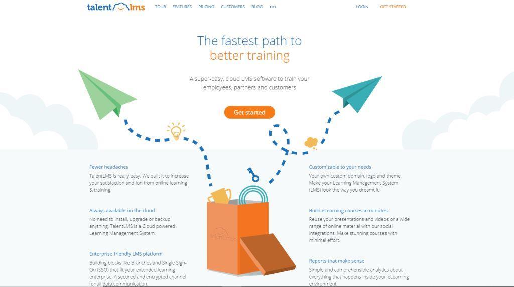 TalentLMS Best Online Course Platforms