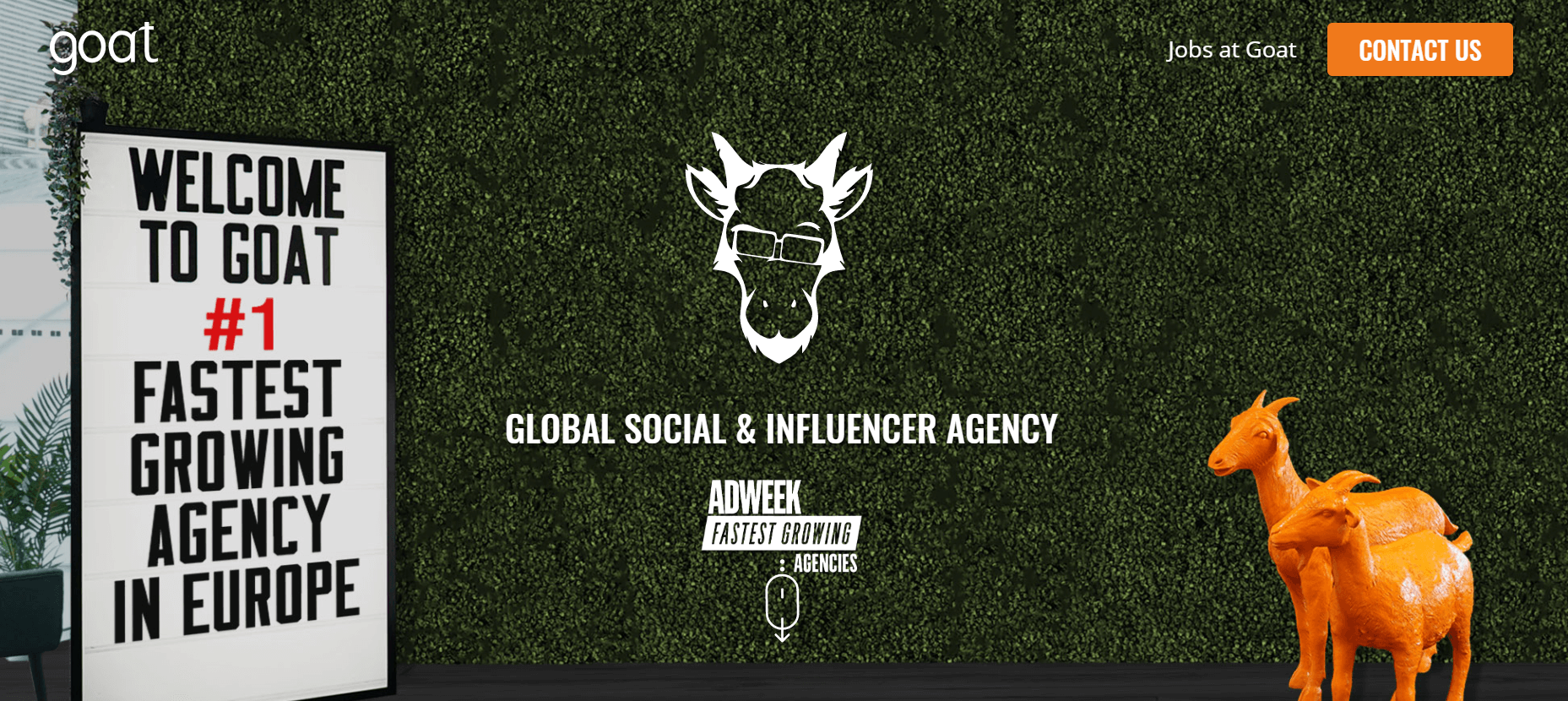 The Goat Agency Influencer Marketing Agency