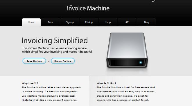 The Invoice Machine FreshBooks Alternative