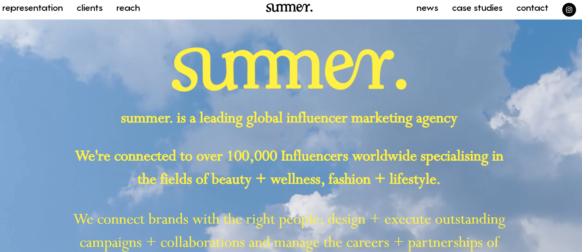 This is Summer Influencer Marketing Agency