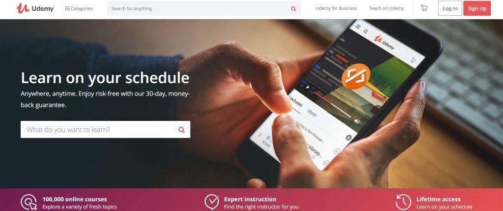 Udemy Best Online Course Platforms