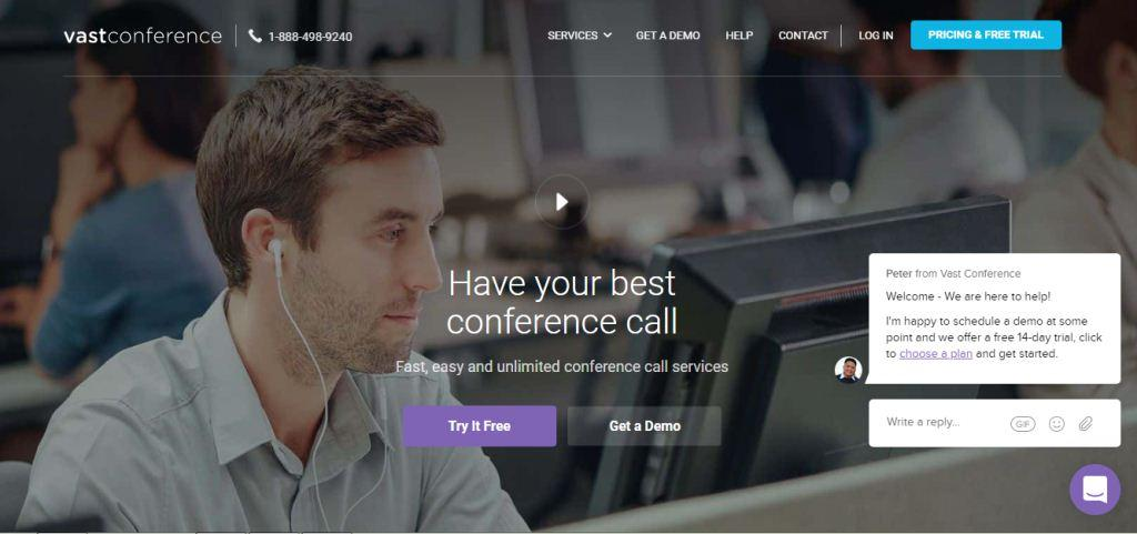 Vast Conference Online Meeting Tools