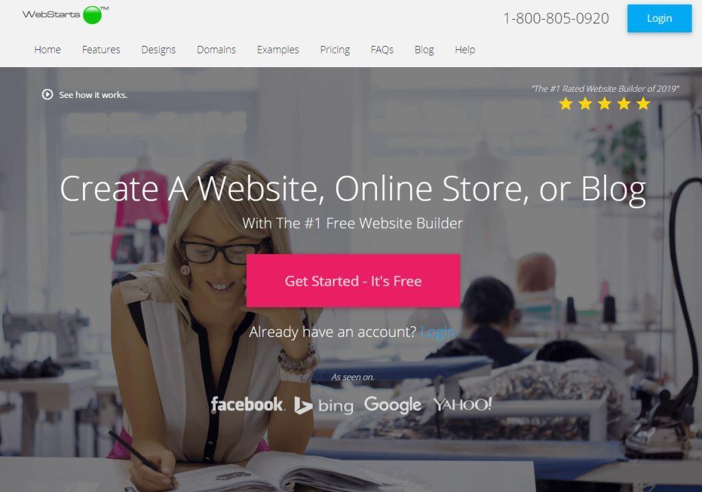 Webstarts-Best-Website-Builder