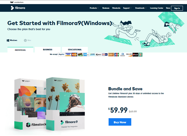 Wondershare Filmora Best Free Video Editing Software online