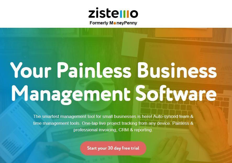 Zistemo Business Management Software