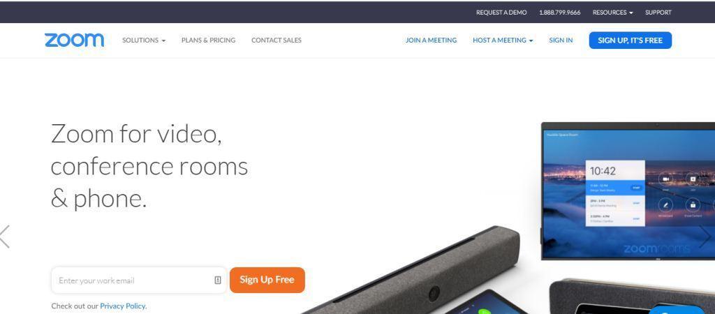 Zoom Online Meeting Tools