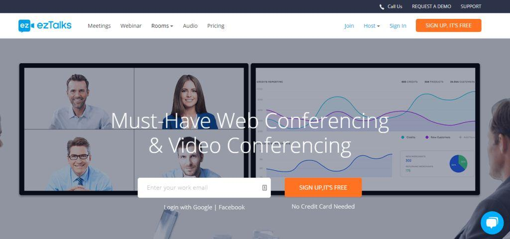 ezTalks Web Conferencing Tool