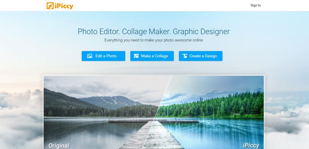 iPiccy Best Photo Editing Software