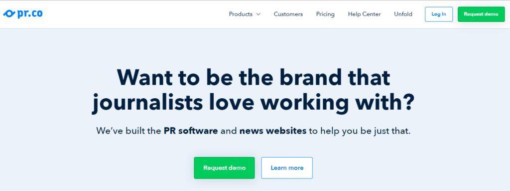 pr.co Online PR Tool