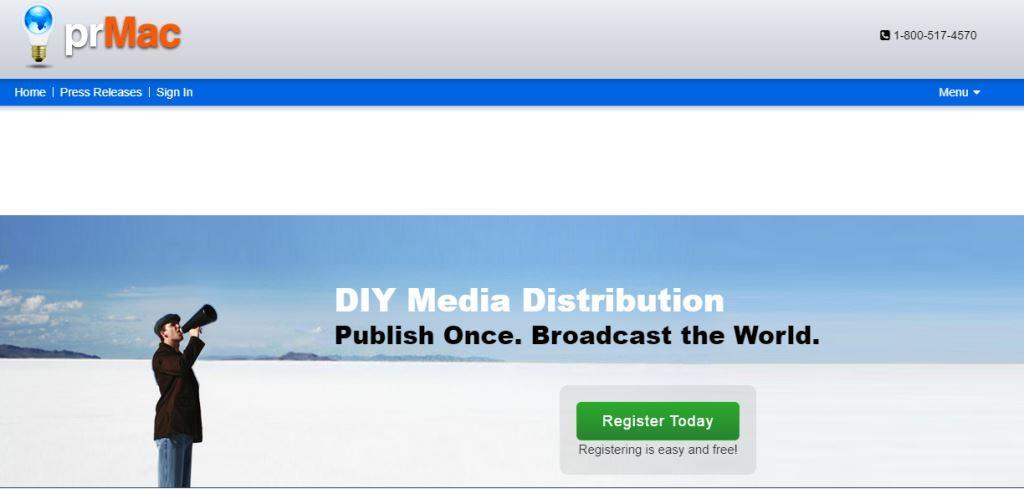 prMac Online PR Tool