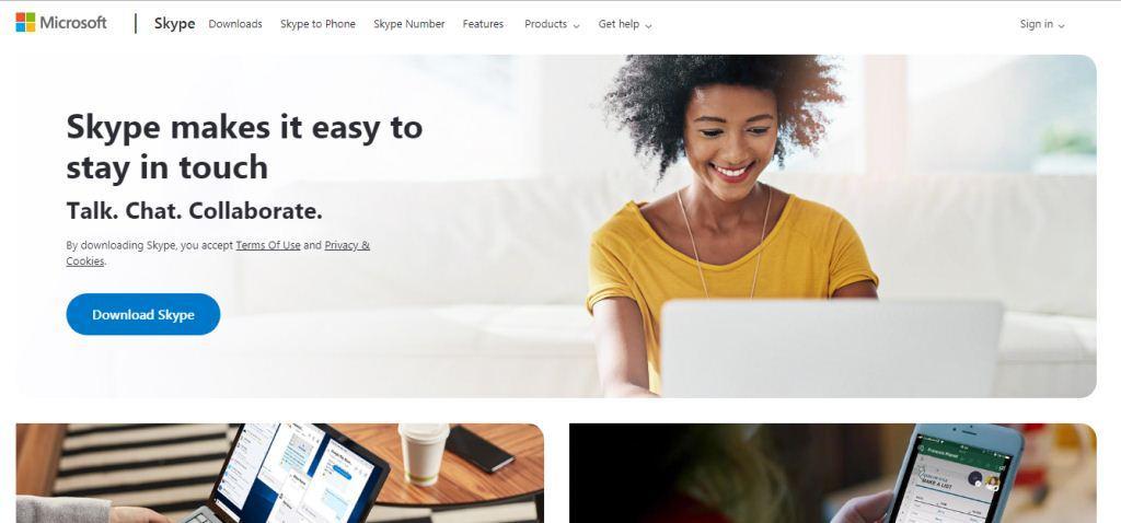 skype Online Meeting Tools