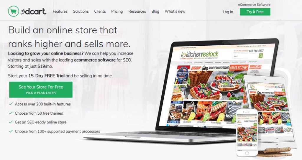 3dcart-Shopify-Alternative