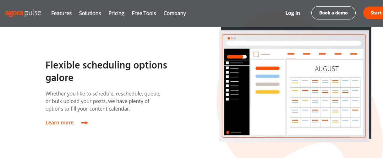 AgoraPulse Content Analytics Tools