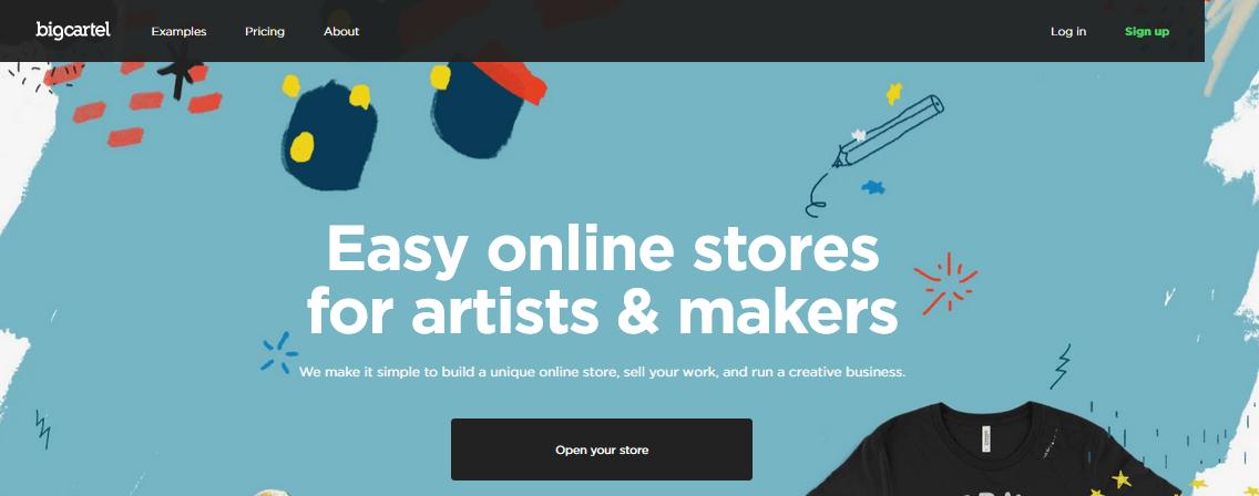 Big Cartel Shopify Alternative