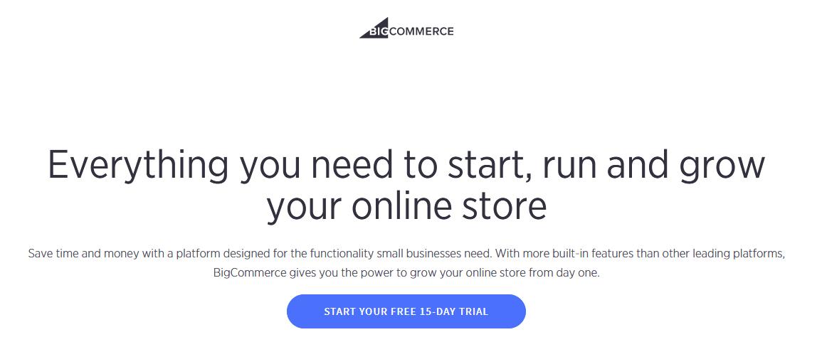 BigCommerce Shopify Alternative
