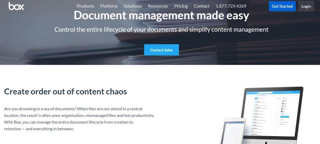 Box-Document-Management-Software