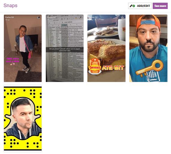 Carlos Gil Snapchat Influencer