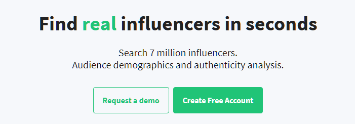 Heepsy Influencer Marketing Platform