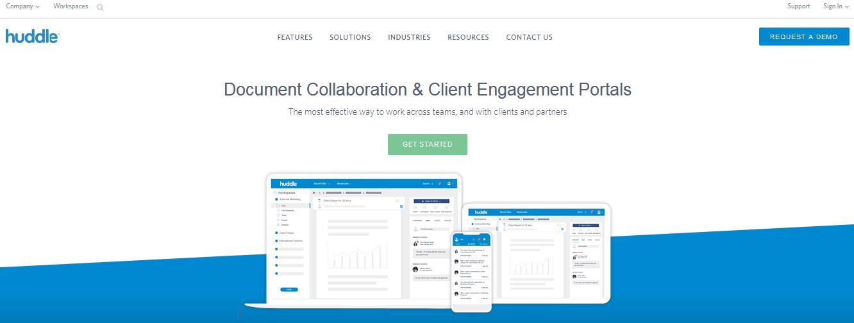 Huddle Document Management Software