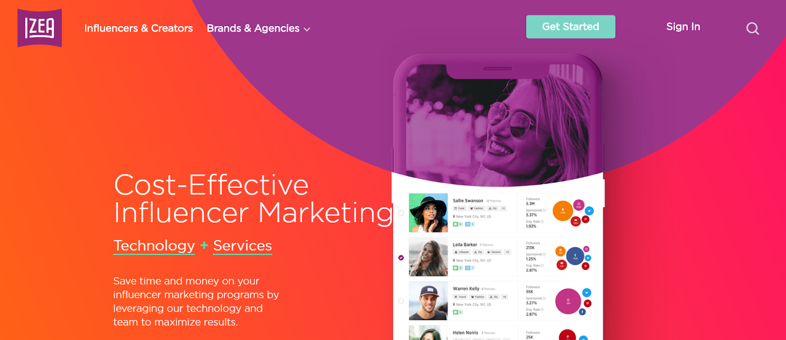 IZEA Influencer Marketing Platform