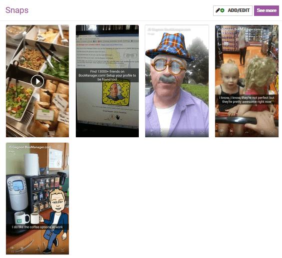 Jean-Serge Gagnon Snapchat Influencer