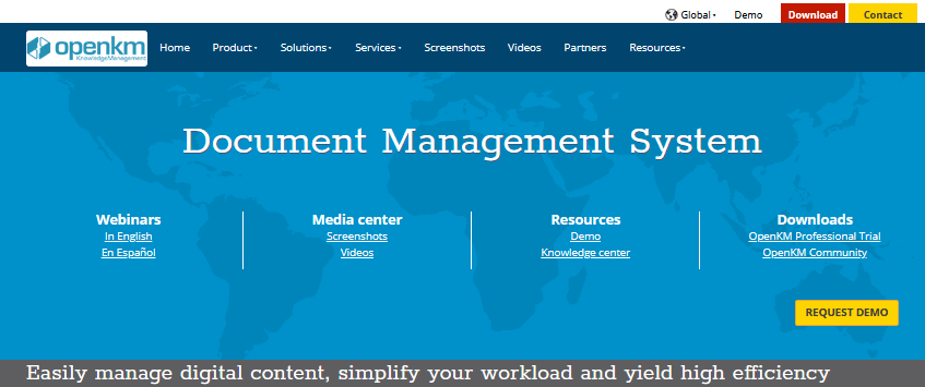 OpenKM Document Management Software
