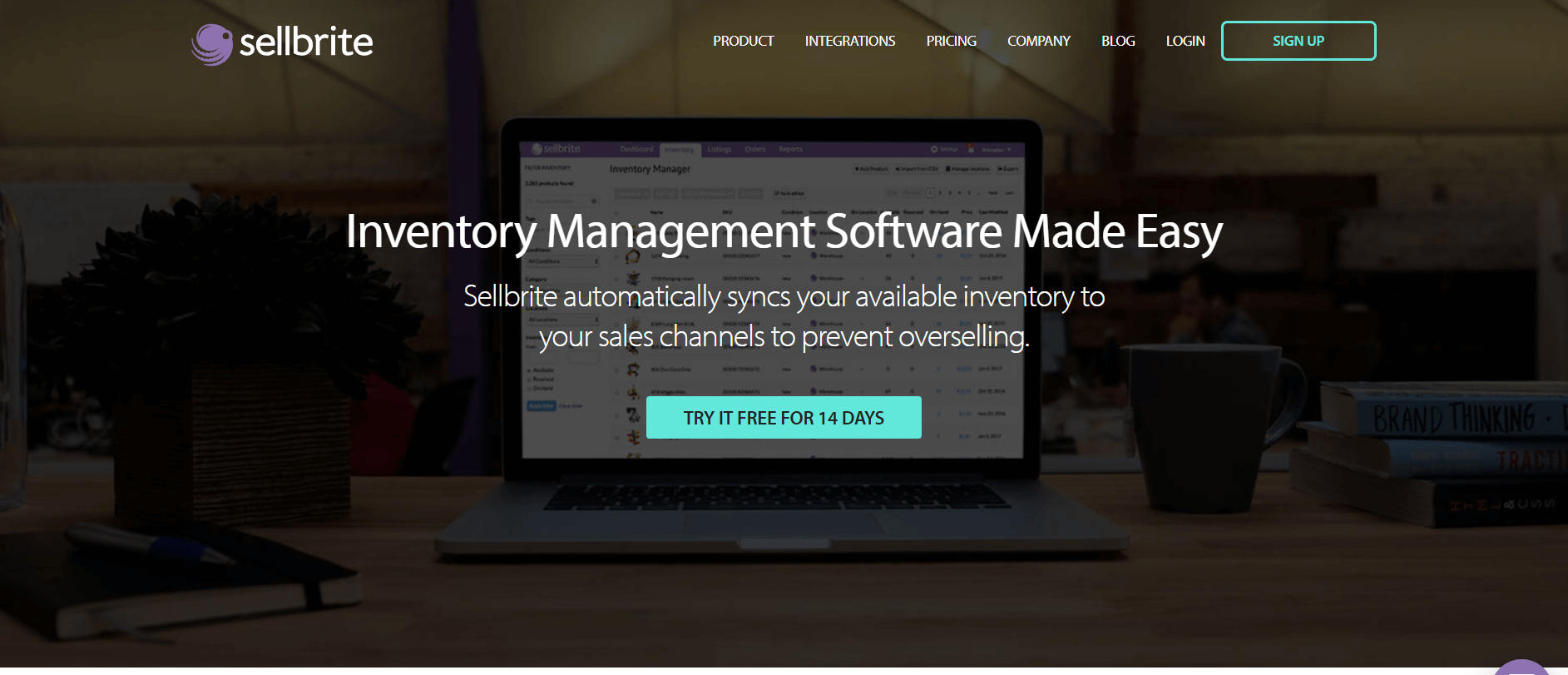 Sellbrite inventory management software