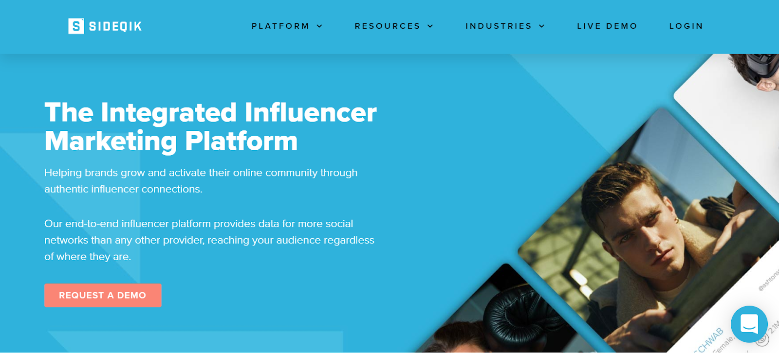 Sideqik Influencer Marketing Platform