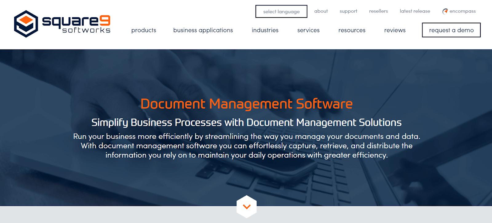 Square 9 Document Management Software