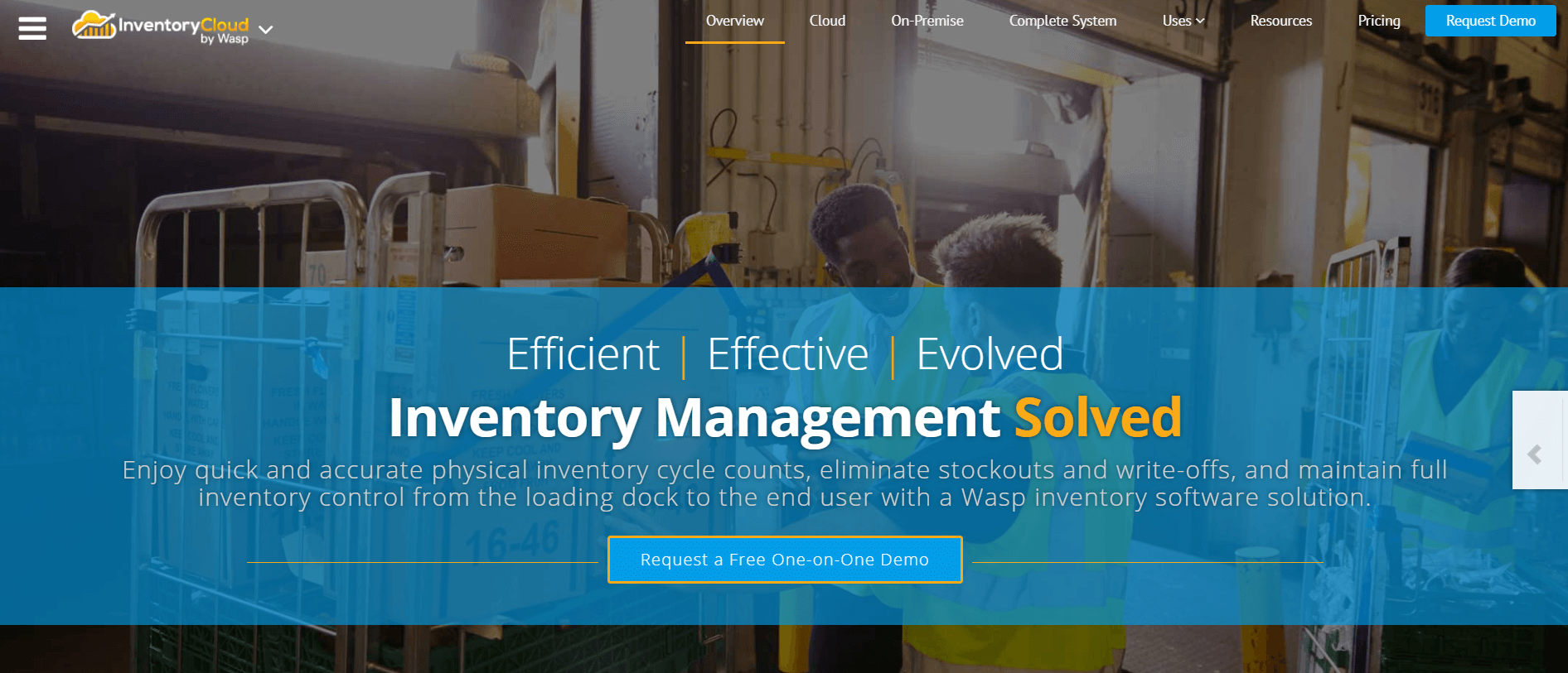 Wasp Barcode inventory management software
