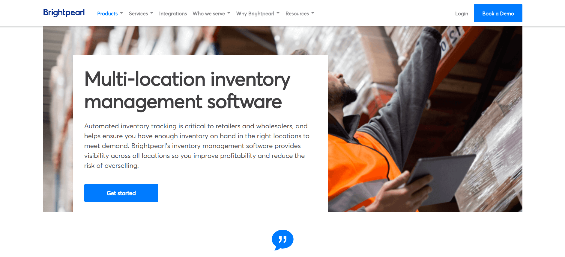 brightpearl inventory management software