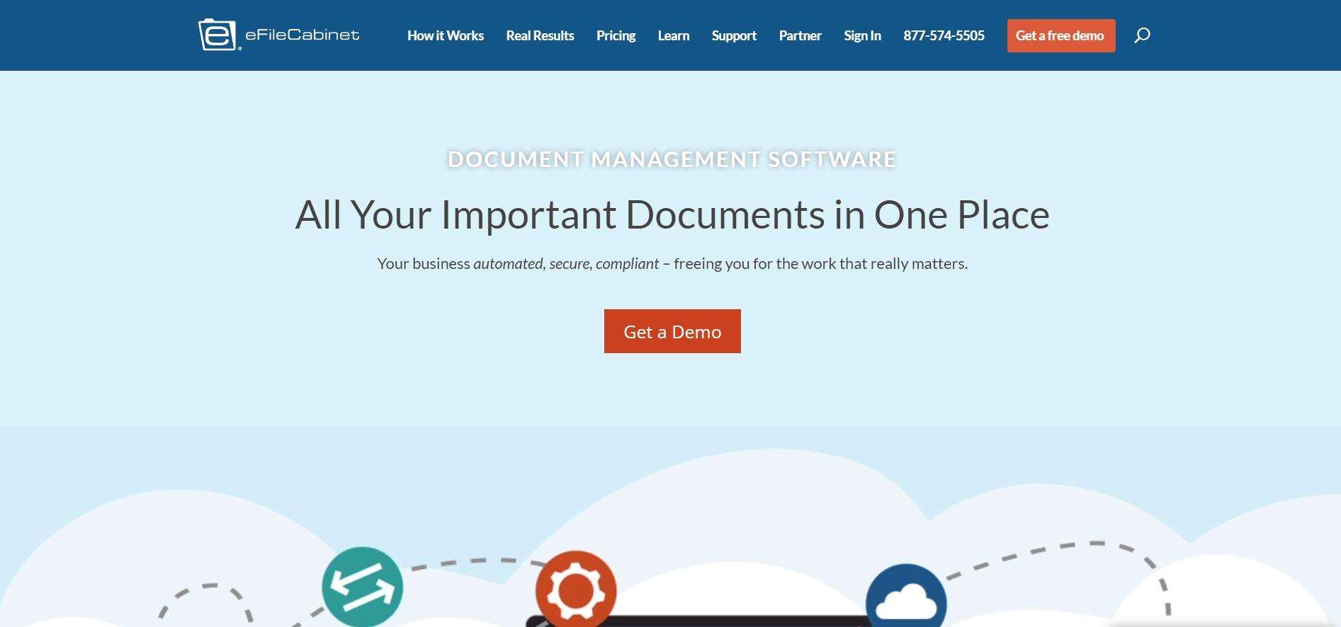 efilecabinet Document Management Software