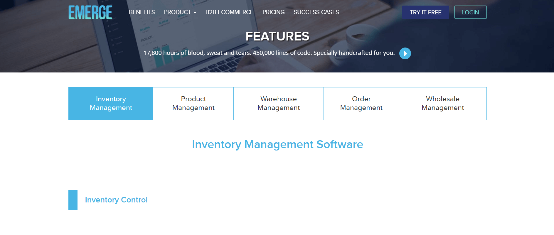 emergeapp inventory management software
