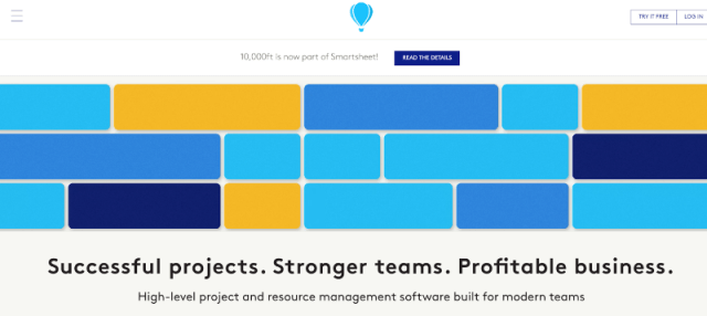 10,000ft Project Management Tool