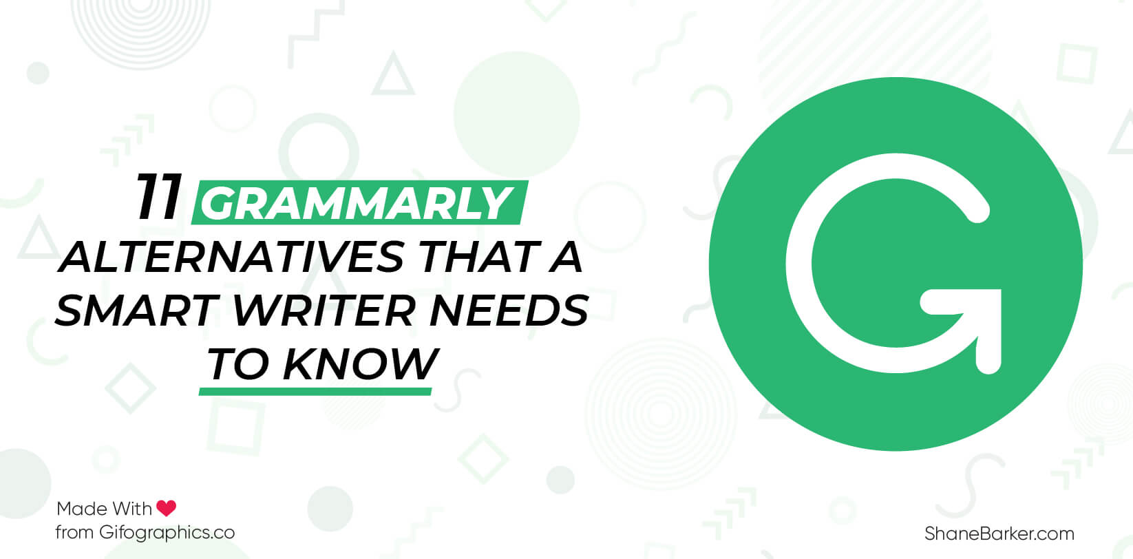 Things about Grammarly Alternative
