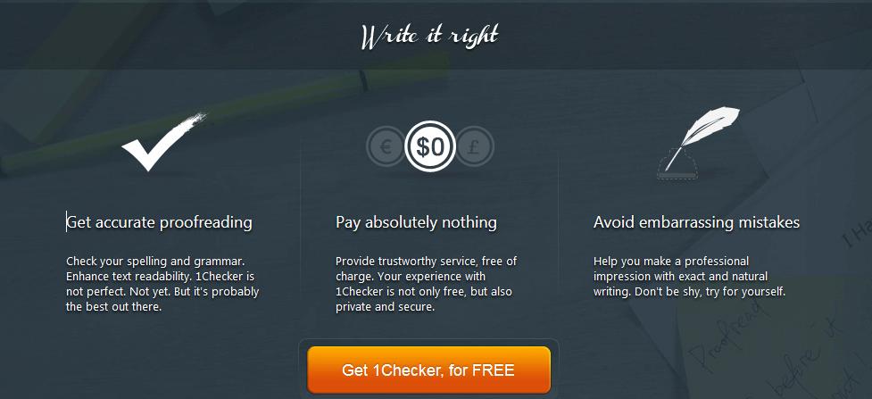 1Checker Grammarly Alternative