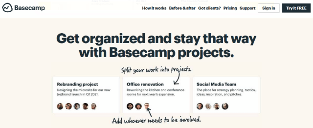 Basecamp-Project-Management-Tool