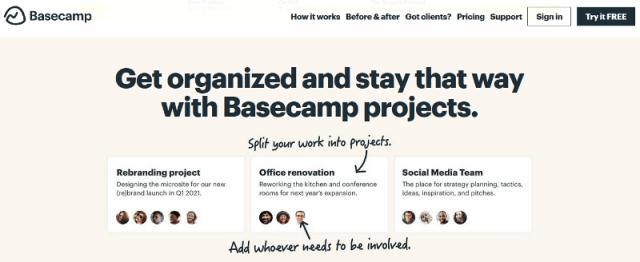 Basecamp-Project-Management-Tool