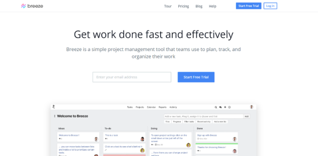 Breeze Project Management Tool