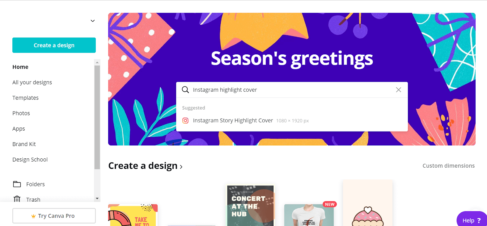 Canva account Instagram Highlight Covers1