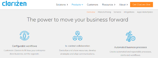 Clarizen One Project Management Tool