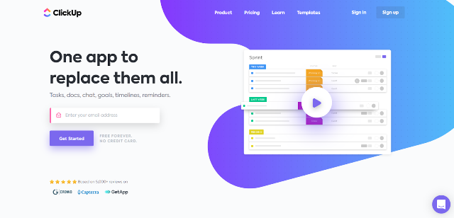ClickUp Project Management Tool