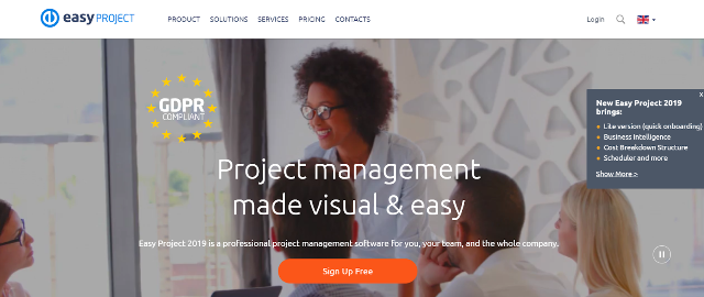 Easy Project Project Management Tool