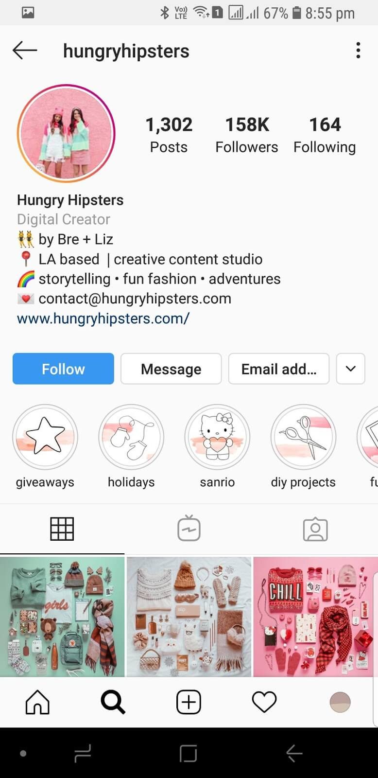 Hungry Hipsters Instagram Highlight Covers
