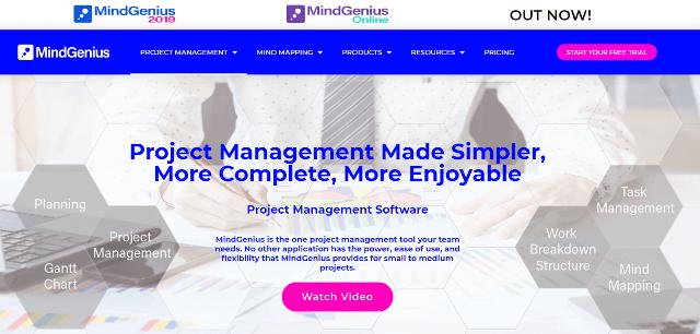 MindGenius-Project-Management-Tool