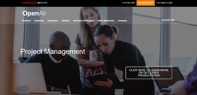 NetSuite OpenAir Project Management Tool