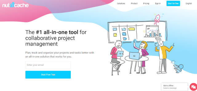 Nutcache Project Management Tool