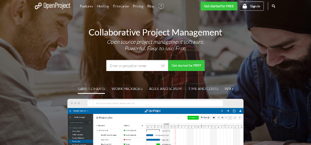 OpenProject Project Management Tool